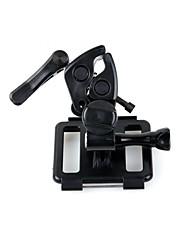 multi-purpose utendørsidrett abs klemmemontering satt for GoPro hero 3/2 - svart