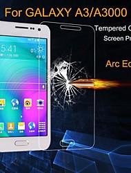 abordables -Protector de pantalla para Samsung Galaxy A3 Vidrio Templado Protector de Pantalla Frontal Ultra Delgado