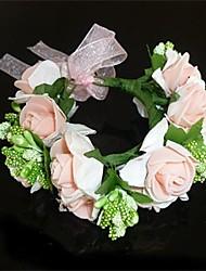cheap -Women's Fabric Headpiece-Wedding Wreaths Classical Feminine Style