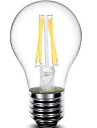 cheap -1pc 440 lm E26/E27 LED Filament Bulbs G60 4 leds COB Dimmable Decorative Warm White AC 220-240V