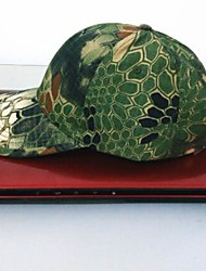 cheap -ESDY Fishing Outdoor Windproof Polyester Camouflage Hat Baseball Cap Sun Visor Green Python