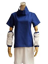 preiswerte -Inspiriert von Naruto Sasuke Uchiha Anime Cosplay Kostüme Cosplay Kostüme Einfarbig Kurzarm Top Unterhose Für Mann