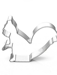cheap -Cartoon Squirrel Shape Cookie Cutters, Fuirt Cut Moulds, Stainless Steel
