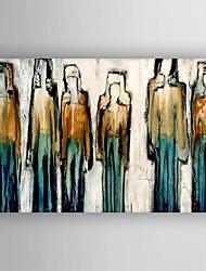 Недорогие -картина маслом современный абстрактной живописи ручная роспись холст с растянутыми оформлена