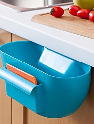 cheap -Plastic Kitchen Waste Storage Box/Kitchen Receive a Case(Assorted Color)