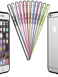 Недорогие -ПК& бампер ТПУ Рамка аргументы за Iphone 6с 6 плюс