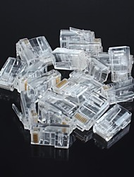 Unshielded RJ45 8P8C Network Crystal Head (20pcs)