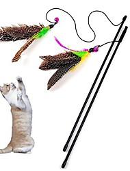 povoljno -Igračka za mačku Igračke za kućne ljubimce Teasers Pernata igračka Zvono Tekstil Za kućne ljubimce