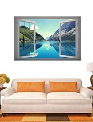 billige -3d Wall Stickers Vægoverføringsbilleder, naturlige landskab indretning vinyl wall stickers