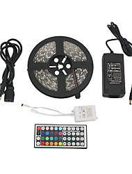 cheap -Z®ZDM Waterproof 5M 300x5050 SMD RGB LED Strip Light with 44-Button Remote Controller (100-240V)