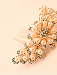 cheap -Beautiful Bride Popular Fashion Boutique Luxury Rhinestone Hair Comb