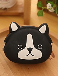 Dog Pattern Silicone Change Purse