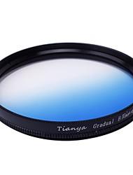 tianya® 52mm Kreis abgestuft blauen Filter für Nikon D5200 D3100 D5100 D3200 18-55mm Objektiv