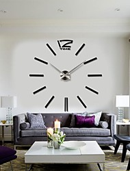 cheap -2015 New Home Decor Big Digital Wall Clock Modern Design Large Decorative Wall Clocks Watch Wall Hours Unique Gift