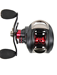 cheap -2015 New Trulinoya Left Handle Centrifugal Brake Casting Reel 13+1 Ball Bearing Black Fishing Reel
