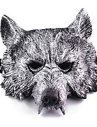 Halloween Masks Masquerade Masks Toys Wolf Head Plastic Horror Theme 1 Pieces Boys' Girls' Halloween Masquerade Gift