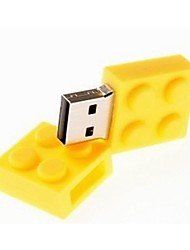cheap -4GB USB disk Toy Bricks Cartoon USB 2.0 Flash Pen Drive