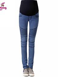 Pantalon femme ( Coton/Autre/Polyester ) Jeans - Epais - Micro-élastique