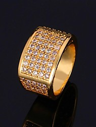 Кольцо Массивные кольца Цирконий Циркон Цирконий Мода Бижутерия Для вечеринок День рождения