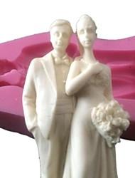 Недорогие -силиконовые торт Топпер силиконовые формы шоколада формы для свадебного украшения торта искусства& промыслы см-426