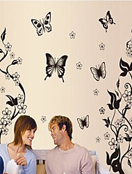 billige -Landskab Sille Liv Romantik Mode Blomster Fantasi Botanisk Vægklistermærker Animal Wall Stickers Dekorative Mur Klistermærker, Vinyl Hjem
