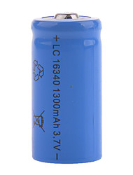 cheap -3.7V Rechargeable 1200mAh 16340 Lithium Ion  Battery