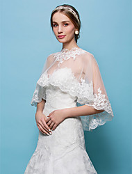 cheap -Tulle Wedding Party Evening Wedding  Wraps Capelets