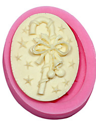 Cameo Walking Stick Silicone Mold Silicone Gift Mold For Fondant Fimo Gum Paste & Soap Chocolate