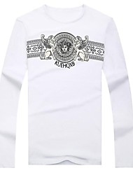 billige -Herre-Trykt mønster Trykt mønster Chic & Moderne T-shirt