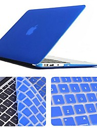 "cheap -Enkay Case for Macbook Air 13.3"" Solid Color Plastic Material Protective Keyboard Film and Matte Case"