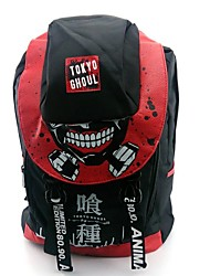 abordables -bolsa Inspirado por Tokyo Ghoul Cosplay Animé Accesorios de Cosplay Maleta mochila CLORURO DE POLIVINILO Nailon Hombre Mujer nuevo