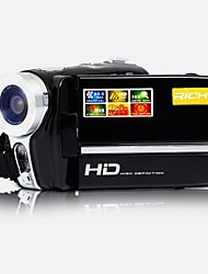 Camcorder - 5.0 MP CMOS - 2.8 Polegadas - 12x - Video Out/720P/HD/Anti-Choque - Tela