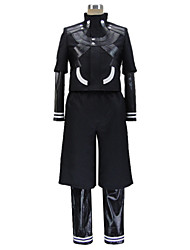 Inspired by Tokyo Ghoul Ken Kaneki Anime Cosplay Costumes Cosplay Suits Patchwork Long Sleeve Leotard Coat Pants For Male