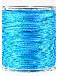 300M / 330 Yards PE Braided Line / Dyneema / Superline Fishing Line Blue 100LB 0.50mm mm ForSea Fishing / Fly Fishing / Bait Casting /