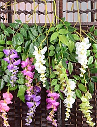 cheap -Artificial Flowers 3 Branch Pastoral Style Orchids Tabletop Flower