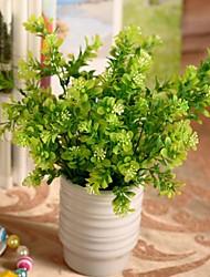 Afdeling Plastik Planter Bordblomst Kunstige blomster