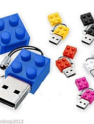 baratos -novo brinquedo tijolos cartoon 8gb usb disco usb 2.0 flash pen drive