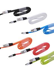 Новый алюминиевый микро USB быстрое зарядное устройство зарядки кабель синхронизации данных для Samsung Galaxy S3 S4 S5 Примечание 2