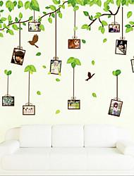 removível memória dos desenhos animados parede pvc árvore etiqueta ambiental