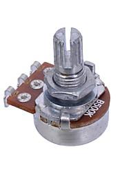 Недорогие -b500k долго валом разделения 18мм объемное электрическое звучание гитар горшки аудио переключатель тон потенциометра гитарные партии 50шт / много