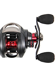 cheap -Fishing Reel Baitcasting Reels 6.3:1 Gear Ratio+14 Ball Bearings Right-handed Freshwater Fishing General Fishing Lure Fishing Bass Fishing