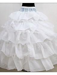 Cérémonie de mariage Occasion spéciale Déshabillés Polyester Ras du Sol Robe de soirée longue Avec