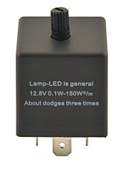 CF14KT Car Condenser Adjustable Device / Flasher for LED (DC11~15V 0.02~20A)