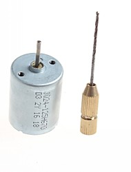 cheap -High Quality Diy Homemade Motor Micro Drill - (Silver Color) 1Pc