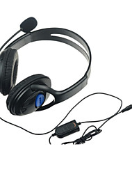 cheap -Gaming Chat Headsets with Microphone for PS4 Wireless Controller