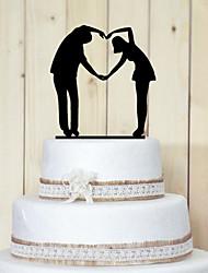 povoljno -Figure za torte Vrt Tema Par Classic Opeka Vjenčanje godišnjica Djevojačka večer s 1 OPP