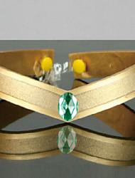 Jewelry / Headpiece Inspired by Sailor Moon Sailor Jupiter Anime Cosplay Accessories Headband Green / GoldenArtificial Gemstones /