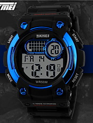 cheap -SKMEI® Men's Sporty Watch Digital LCD Display Calendar/Chronograph/Alarm/Water Resistant Cool Watch Unique Watch
