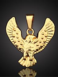 Недорогие -Муж. форма Ожерелья с подвесками Кулоны Позолота Ожерелья с подвесками Кулоны Повседневные Спорт Бижутерия
