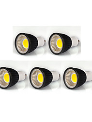 cheap -380lm GU10 LED Spotlight MR16 1 LED Beads COB Dimmable Warm White / Cold White / Natural White 110-130V / 220-240V